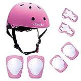 Kamugo Enfants Youth réglable Sports équipement de Protection de sécurité Pad Safeguard (Casque...