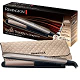 Remington Fer à Lisser, Lisseur Keratin Therapy Pro, Plaques Céramique Avancée, Chauffe Rapide,...