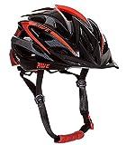 AWE Aerolite Casque de vélo pour homme Taille 58-61 cm (Noir/rouge)