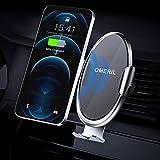Support de Téléphone Portable Voiture OMERIL Chargeur sans Fil Voiture 2 en 1 Support Chargeur...