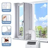 KafooStore Joint de Fenêtre 400 CM, Kit Calfeutrage Climatiseur, Tissu de Calfeutrage Résistant à...