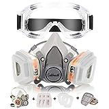 Masque a Gaz Zelbuck 107 Masque Respiratoire Réutilisable Masque Protection Respiratoire avec des...