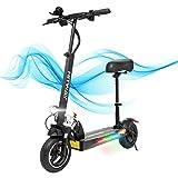 HITWAY électrique Scooter, E Scooters, 800W, Scooter électrique Pliable avec écran LCD Batterie...