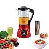 Livoo DOP140R Blender Chauffant Multifonction | 6 Programmes prédéfinis Smoothies, Soupes, Sauces,...