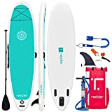 redder Paddle Planches Gonflable Zen 10'8 Yoga Stand Up Paddle Board Gonflable avec Pagaie...