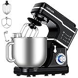 Robot Pâtissier Multifonctions 7L 10 Vitesses Acekool MC1 Pétrin Professionnel 1400W Puissant,...