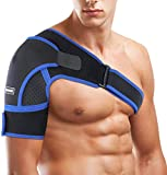 Épaulière SGODDE adaptée aux épaules gauche et droite pour hommes et femmes. Sangle réglable néoprène