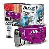 AB Flex Ceinture abdominale pour muscles minces tonifiés de l'estomac – pas de coussinets de...