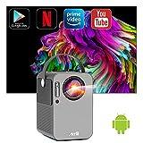 Smart Videorojecteur Android - Artlii Play, 2Go RAM/16Go ROM, WiFi Bluetooth, Mini projecteur...