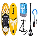 """zray Adulte Unisexe, Sup 9'9"""" Stand up, Paddle, Planche, Surf, Board, Jaune, 297x76x15cm 9''x30''x6,..."""