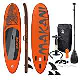 ECD Germany Sup Board Stand Up Paddle Surf Gonflable Makani | 320x82x15 cm | Charge 150kg | PVC |...