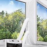 TOPOWN 300cm Kit Calfeutrage Climatiseur Fenêtre Joint de fenêtre climatiseur Tissu de Calfeutrage...