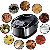 Russell Hobbs 21850-56 Multi Cuiseur 900W CookAtHome, 11 Programmes Combinables, Panier Vapeur,...