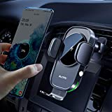 Auckly 15W Qi Chargeur Induction Voiture,Chargeur sans Fil Voiture Rapide Automatic Clamping Porte...