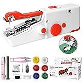 Machine à Coudre Portative, Mini Machine à Coudre Électrique Portable pour Adulte, Point Rapide...