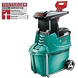 Broyeur de végétaux Bosch - AXT 25 TC (2500W, poussoir pour déchets verts, bac 53L, débit: 230...