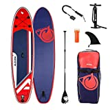 ADRN Paddle Gonflable Explorer 10'8 (325) - Pack Complet Stand up Paddle avec Dérive Centrale,...