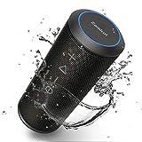 Zamkol Enceinte Bluetooth Portable, Waterproof Haut-Parleur Bluetooth Enceinte d'extérieur sans Fil...