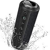 Enceinte Bluetooth Portable Surround Stéréo: SONGLOW 40W Enceinte Basses Puissantes, Étanche...