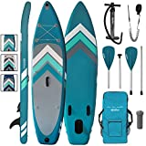 ALPIDEX Stand Up Paddle Board 305 x 76 x 15 cm Charge Max. 110 kg Sup Planche Gonflable iSup Leger...