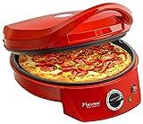 Bestron Four à pizza avec gril, Viva Italia, Chaleur supérieure et inférieure, Jusqu'à max....