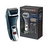 Remington Rasoir Electrique Grilles Tondeuse Lames Titanium, Rasage Précis et Doux - F7800 Flex...