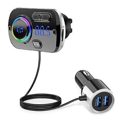 transmetteur fm bluetooth GRDE Transmetteur FM Bluetooth 5