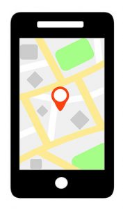 collier GPS appli