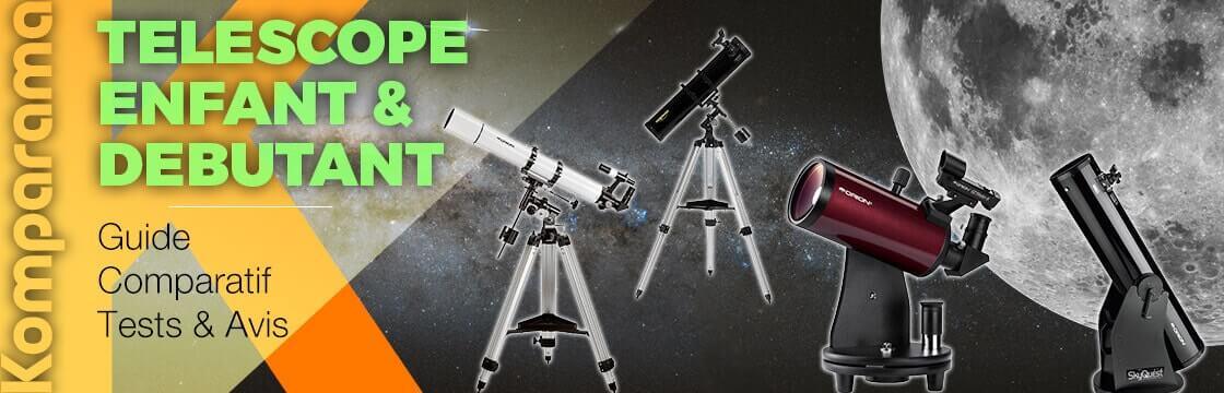 telescope enfant et debutant header