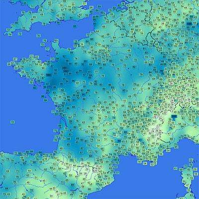 deshumidificateur carte humidite infoclimat