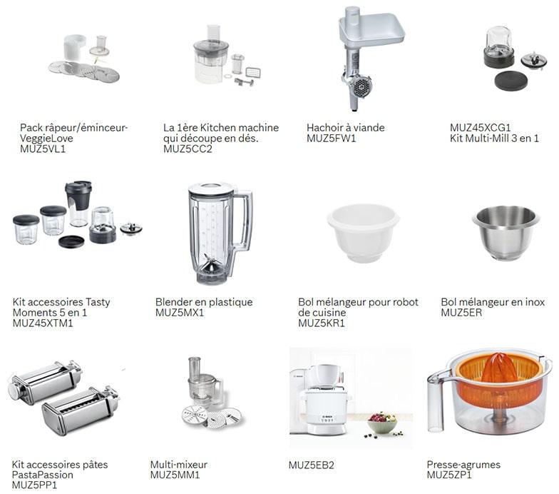 robot-patissier-Bosch accessoires