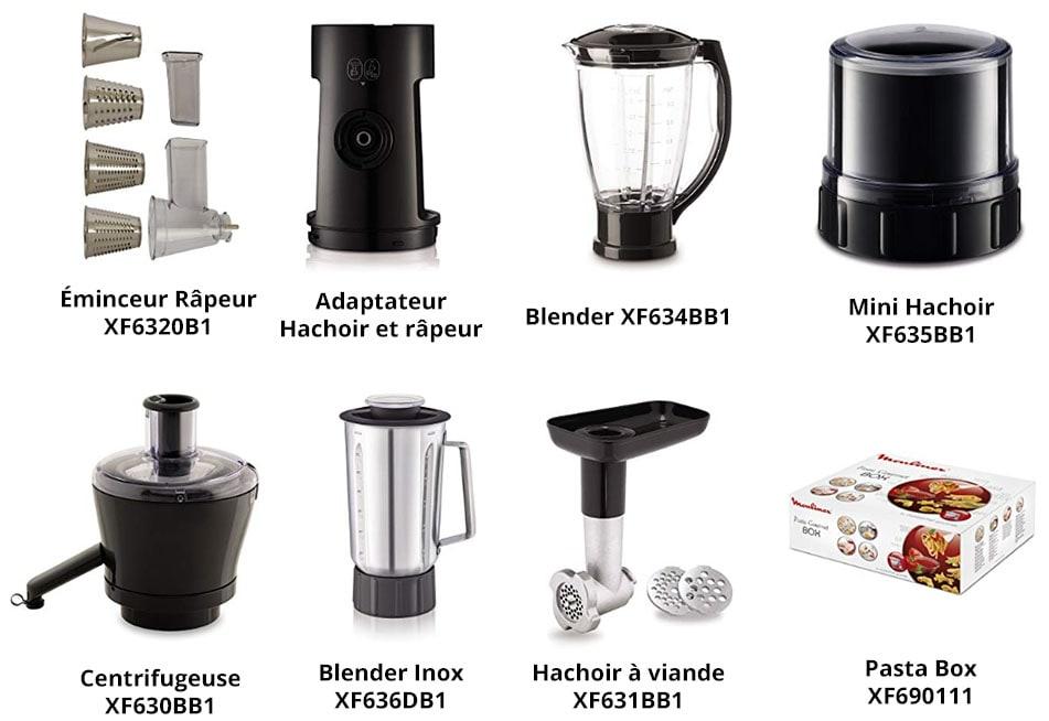 accessoires Moulinex Masterchef Gourmet