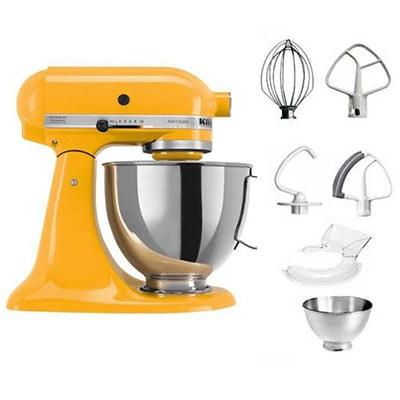 Kitchenaid Artisan 5KSM175PS accessoires-jaune