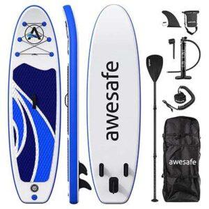 standuppaddle gonflable AWESAFE Isup 10