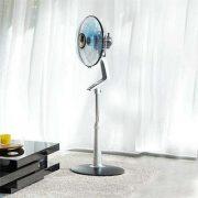 ventilateur silencieux rowenta sur pied salon