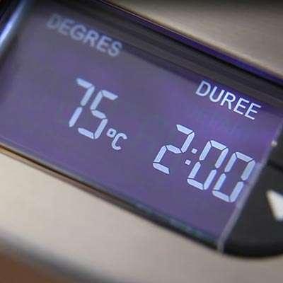 machine a thé réglage température infusion thés
