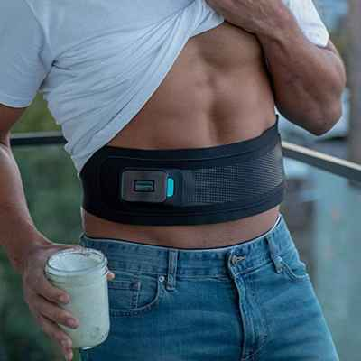 ceinture abdominale slendertone connect sur homme
