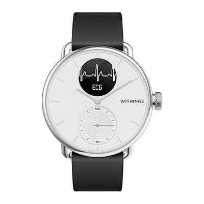 montre cardio sans ceinture Withings Scanwatch