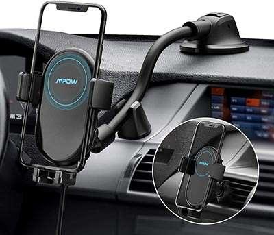 chargeur sans fil voiture Mpow Chargeur Induction Voiture Qi